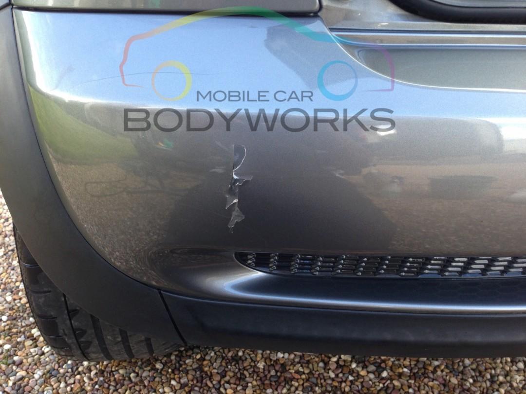Cracked Bumper Repairs Mobile Car Body Works Ltd