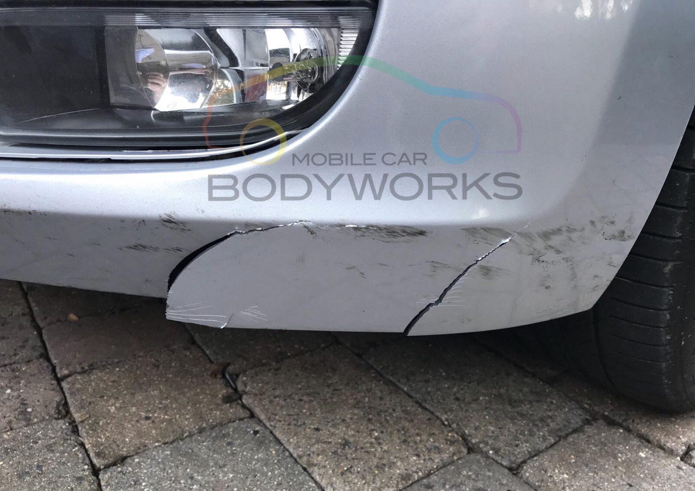 Fender Repair Cost >> Cracked Bumper Repairs Mobile Car Body Works Ltd